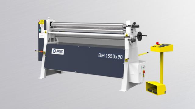 BM 3 Rolls Motorised Plate Rolling Machine