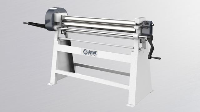 BST 3 Rolls Manual Plate Rolling Machine