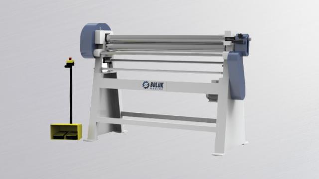BST M 3 Rolls Motorised Plate Rolling Machine