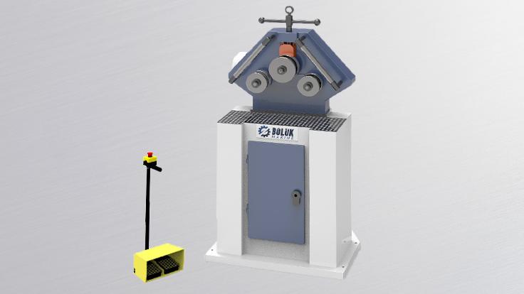 BPK 30 Boru & Profil Kıvırma Makinesi